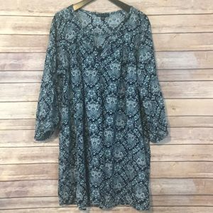American Eagle Outfitters Boho Tapestry Dress